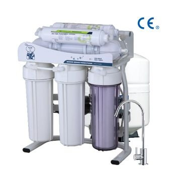 6 Stages RO System / RO Water Filter With Booster Pump