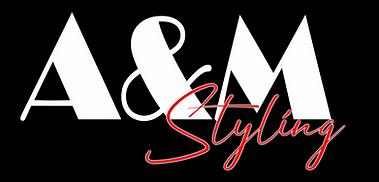 AandM Styling Logo Blk Background low.pn
