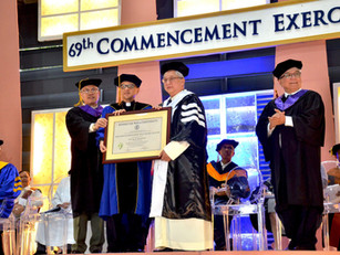 Archbishop Tria Tirona conferred Doctor of Humanities, Honoris Causa