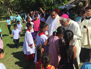 Archbishop Dedicates the Church of Santa Maria Josefa in Payak, Bato, Camarines Sur