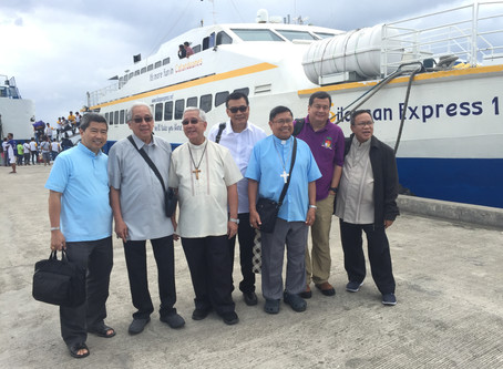 Bicol Bishops Meet in Virac