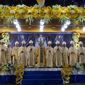Bicol Bishops join devotees amidst COVID19