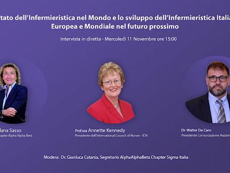 Lo stato dell'Infermieristica nel mondo e lo sviluppo dell'Infermieristica italiana, europea e mondi