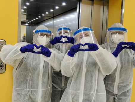 8 marzo 2021. Giornata Internazionale della Donna. Le infermiere guidano la lotta contro la pandemia