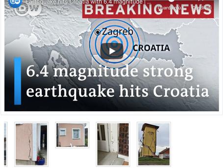 Aiutiamo gli infermieri e i cittadini croati colpiti dal terremoto