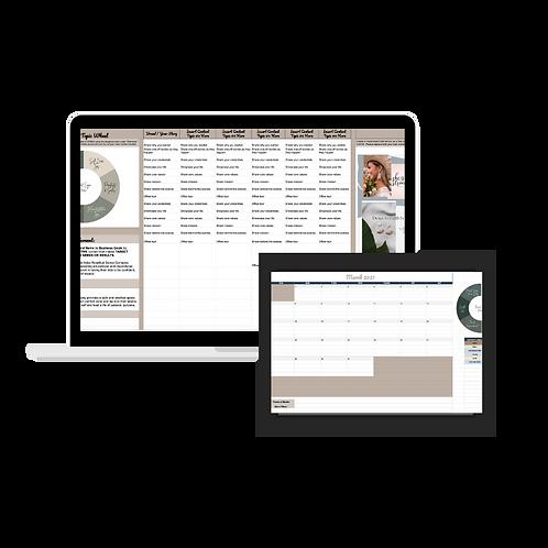 Content Strategy & Calendar Tool