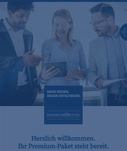 Welcome-Broschüre Premium-Paket