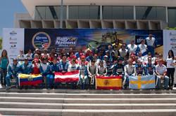 Foto de pilotos Rally of Nations