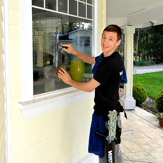 jairus gould washing windows for bridge city