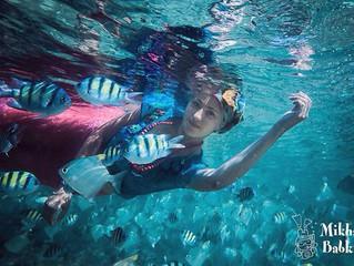 Необычные ощущения. Подводная фотосессия