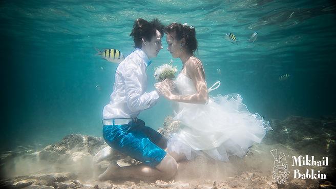 Подводные фотосессии, съемка под водой