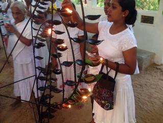 Полнолуние на Шри-Ланке. Праздник