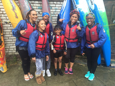Youth R Us go Kayaking