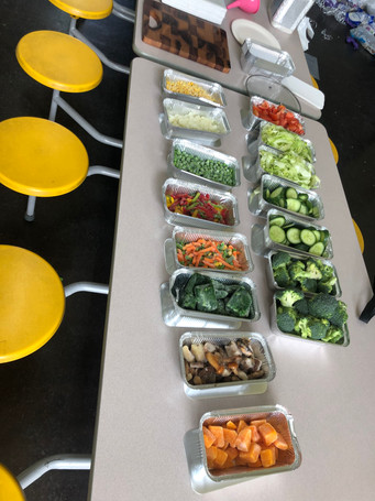 Healthy eating at Empowerment Brunch