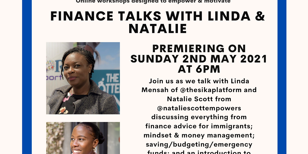 Community Connections - Finance Talks with Natalie & Linda