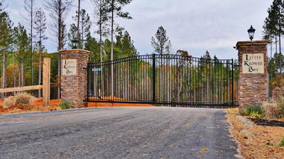 Gated Entrance to Little Keowee Bay