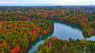 Fall Colors at Lake Keowee
