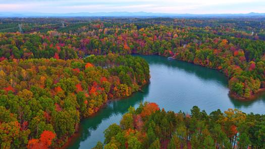 Fall Colors at Lake Keowee