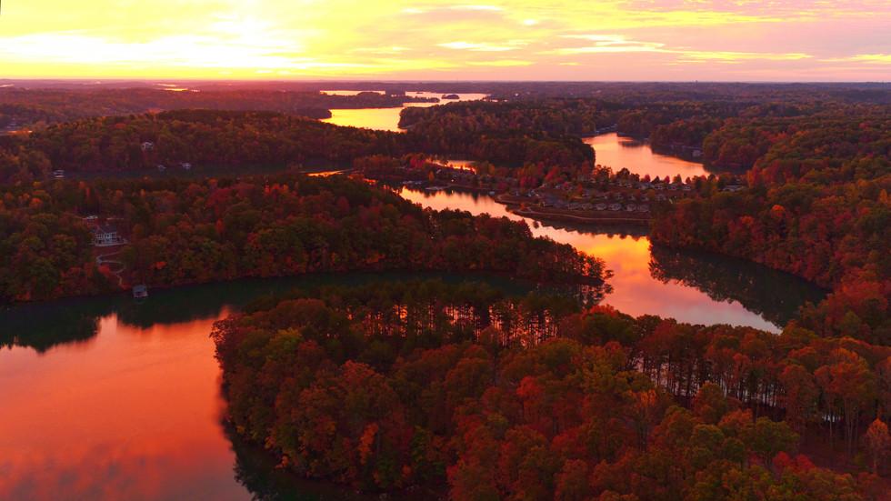 Lake Keowee, SC Sunrise