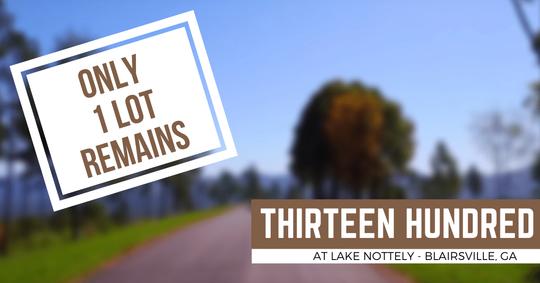 Thirteen Hundred at Lake Nottely