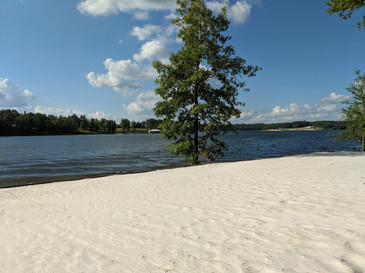 Beach at Anglers Point