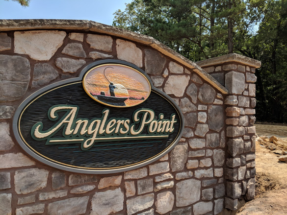 Entrance to Anglers Point