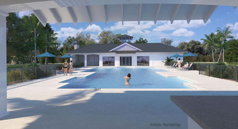 Amazing new pool