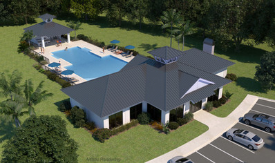 New Clubhouse with Pool