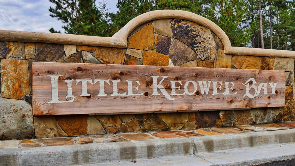 Little Keowee Bay Entrance