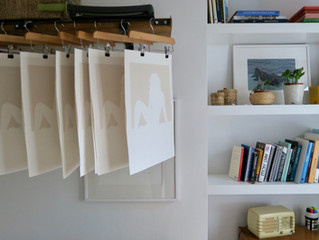 Take a Peek inside My Studio