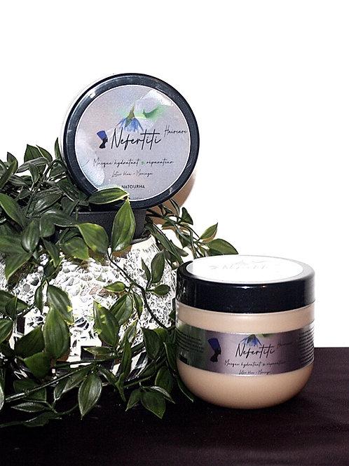 Masque hydratant et réparateur Lotus Bleu-Moringa Nefertiti 250gr