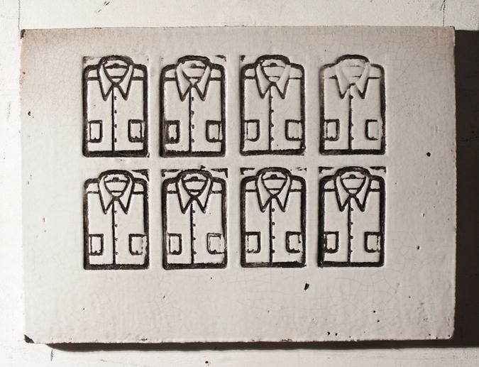 Le camicie - 24x32 - 1969 - ceramica_edi