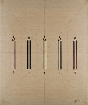 B71    - Le matite 71B - 80x95 - 1973 -