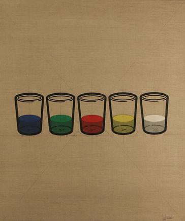 C58    - I bicchieri 58C - 80x95 - 1975