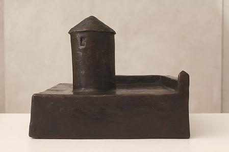 torre tonda - cm 32x32x27 - 2012 - bronz