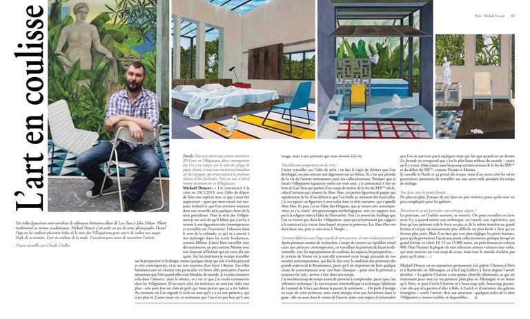 Interview Dandy magazine