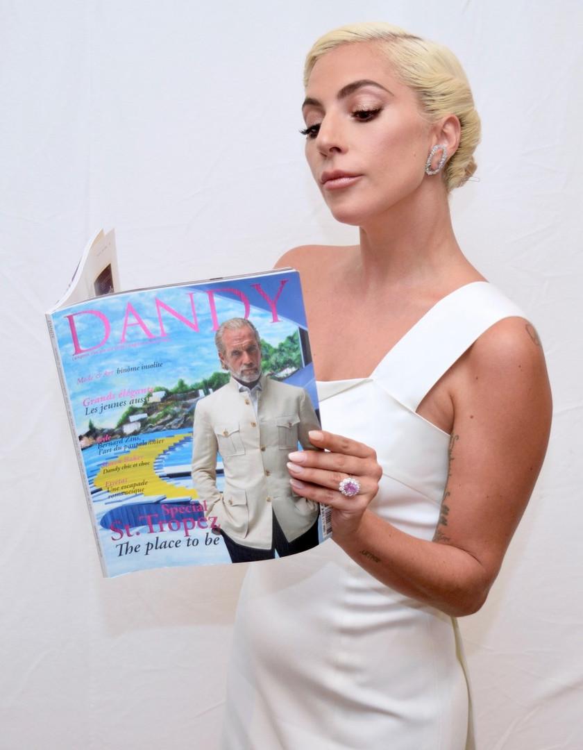 Lady Gaga with Dandy Magazine