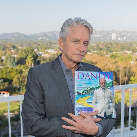 Michael Douglas with Dandy Magazine, Hollywood