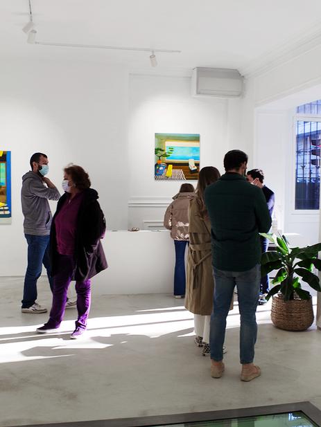 Mickael Doucet Artcan gallery opening