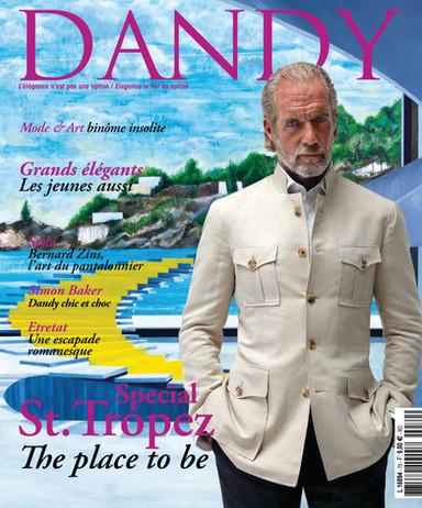 Couverture magazine dandy