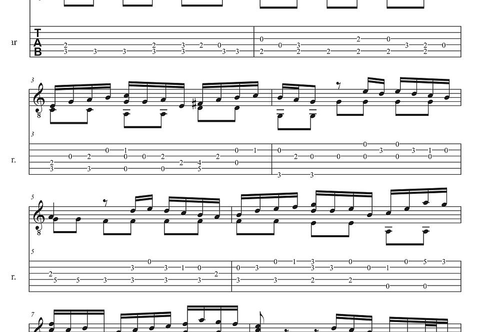 Andante Bach (Sonata #2 for violin)