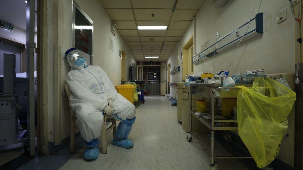 武漢醫院有肺炎患者