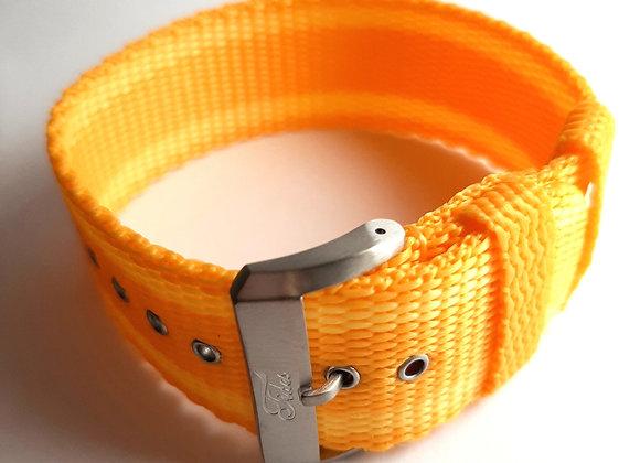 Exuma  Strap - Orange with Stripes
