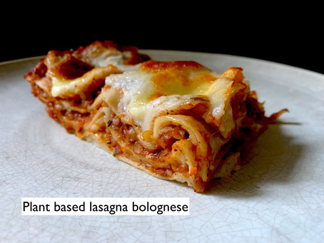 Meat-free Lasagna Bolognese