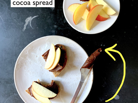 Sweet potato cocoa spread