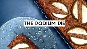 The pear & pecan podium pie