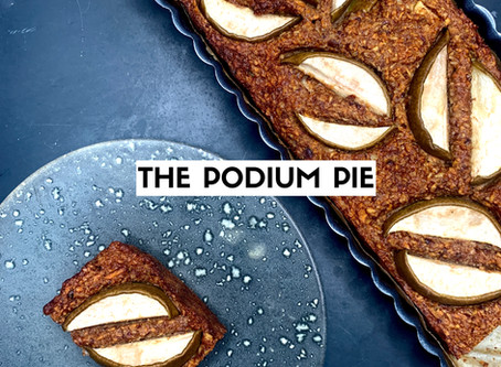 The pear & pecan podium pie