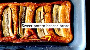Banana bread - with sweet potato