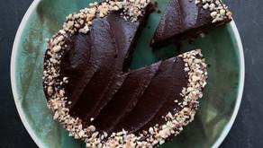 Sweet Potato Chocolate fudge cake