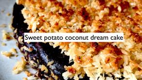 Sweet potato coconut dream cake